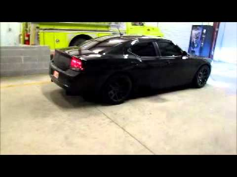 Blackout1 S 2008 Dodge Charger Murdered Out Youtube