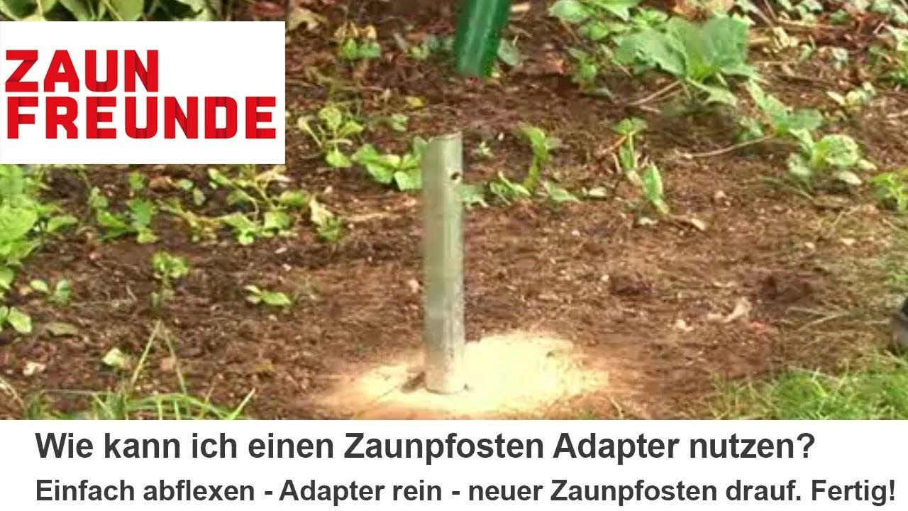Zaunpfosten Adapter Fur Den Einfach Austausch Alter Zaunpfosten
