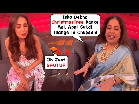 Malaika Arora's Angry Reaction When Kirron Kher Made Fun Of Her Dress & Her Thin Legs