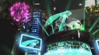 【初音ミク】NTTdocomo presents HATSUNE MIKU AR STAGE@六本木ヒルズ メトロハット REPORT MOVIE thumbnail
