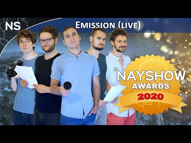 NAYSHOW AWARDS 2020 - Les résultats ! (Rediffusion Live)