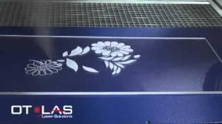 Laser engraving plexiglass