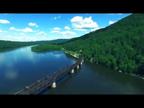 Breathtaking Views of Mattawa: A Drone's Eye View - 4K