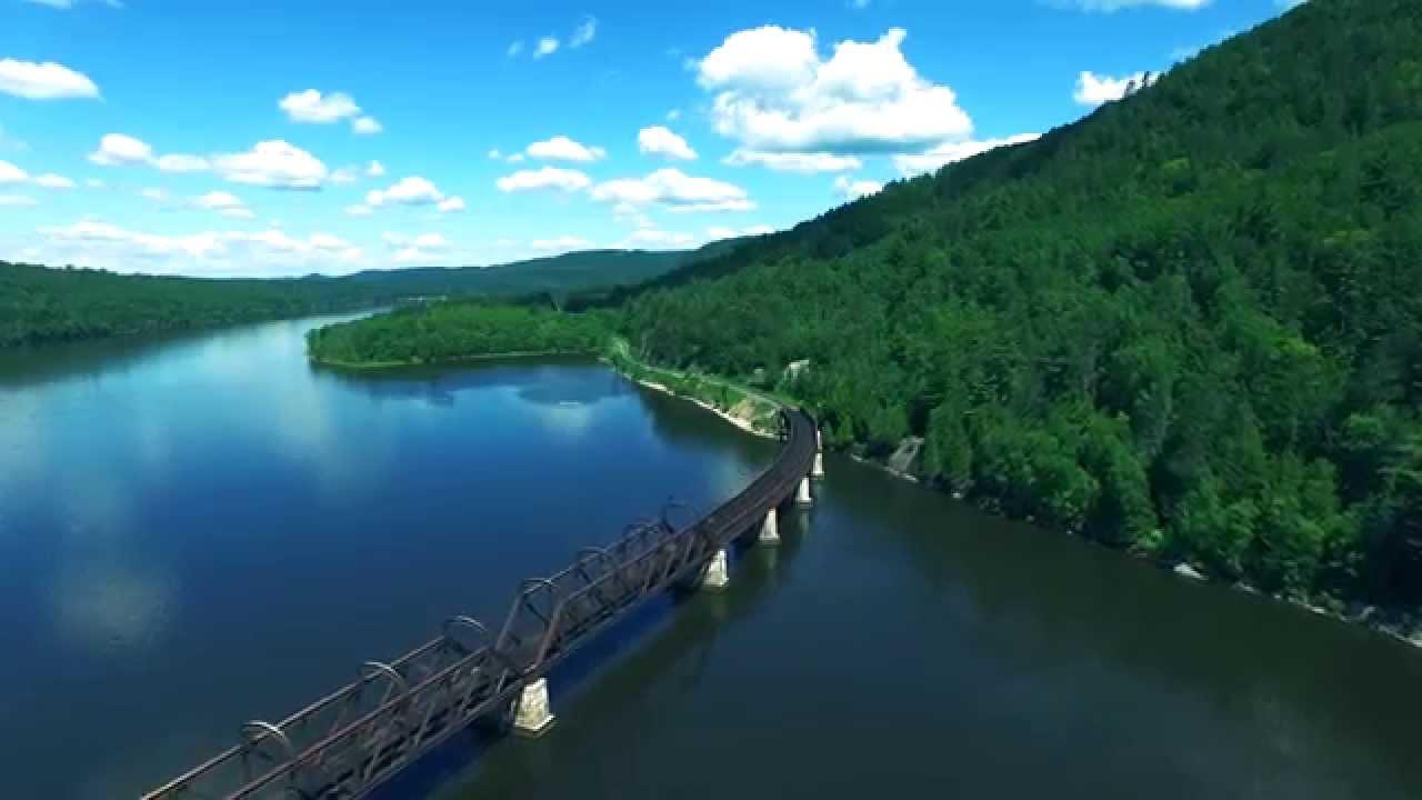 Breathtaking Views of Mattawa: A Drone's Eye View