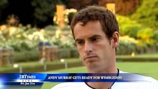 Andy Murray Gets Ready For Wimbledon