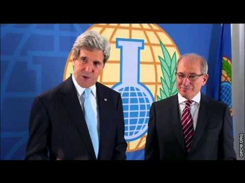 Secretary Kerry Delivers Remarks With OPCW Director-General Uzumcu