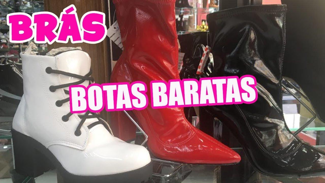 5f145a8c8 BRÁS - SAPATOS E BOTAS DE INVERNO BARATOS NO BRÁS - ATACADO E VAREJO ...