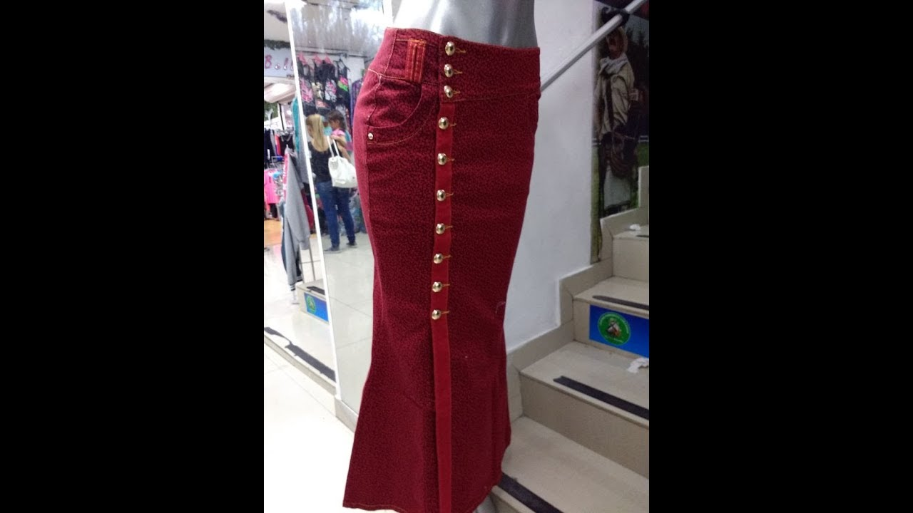 e13224b49 faldas de Moda Cristiana hoy by EVARDYS JEANS