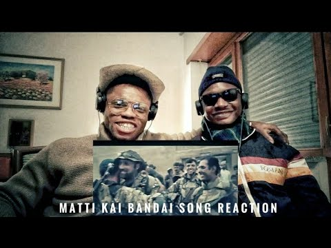 Ye Bandai Matti kai Bandai Pakistan Army Song | Reaction by Crazy Squad