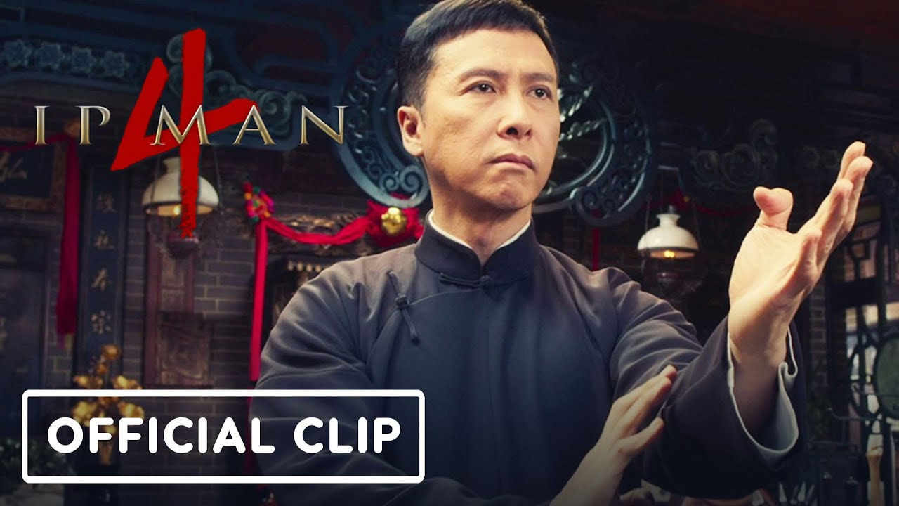 Ip Man 4: The Finale - Clip oficial exclusivo de la escena de lucha + vídeo