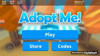 all roblox in adopt codes me and free and with music playing, second features Rayexer_YT