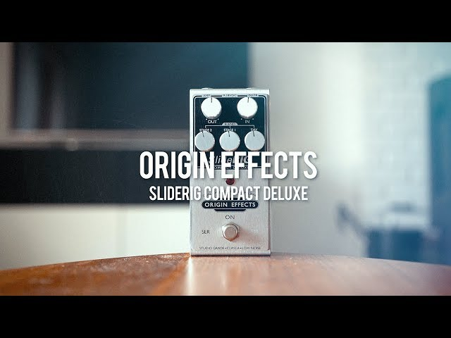 Origin Effects SlideRig Compact Deluxe with electric guitar & lap steel! (demo)