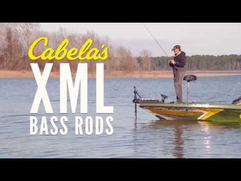 CABELA'S BASS FISHING XML ROD SERIES