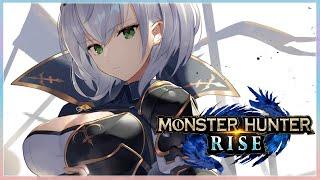 【モンスターハンターライズ】人生初のモンハンの世界へ...⚔【白銀ノエル/ホロライブ】
