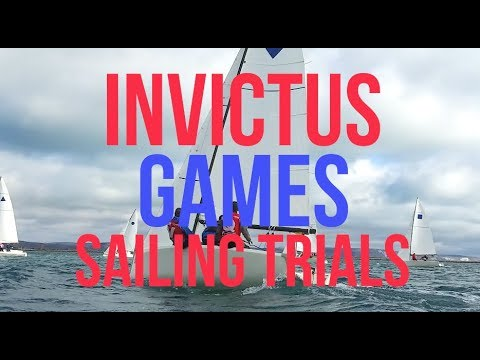 Invictus Games Sailing Selection Trials with RYA Sailability
