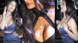Poonam pandey hot cleavage show at 'the weekend'  press meet
