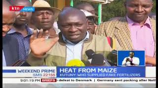Section of North Rift leaders accuse DP William Ruto of being behind maize farmers woes