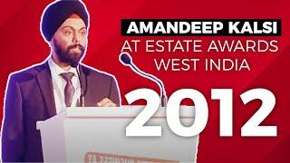 Amandeep Kalsi at Estate Awards 2012