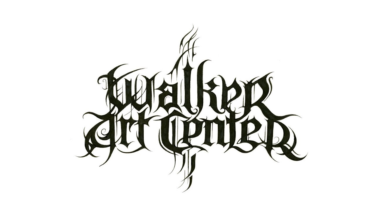 christophe szpajdel s walker art center black metal logo youtube rh youtube com band logo generator online metal band logo creator