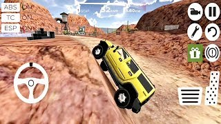 Extreme SUV Driving Simulator : Painting Cars Extreme Rally 4x4 Simulator 3D - Android Gameplay #2