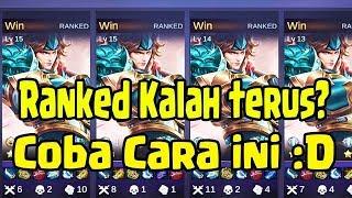 Sssttt!!!! Cara Rahasia Ranked Solo Supaya Mudah Win!! Caranya Gini.... - Mobile Legends Indonesia