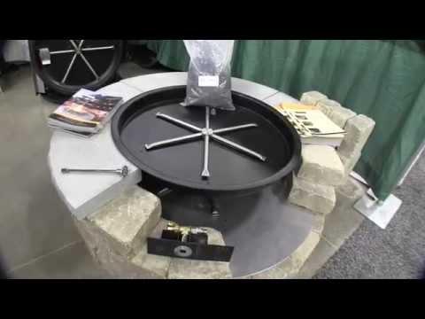 #FiregearOutdoors Fire Ring Propane Conversion Kit: By John Young of the Weekend Handyman