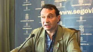 Ayuntamiento Segovia. Pedro Arahuetes  Sobre el concierto de Estopa en el Colegio Claret  4/6/2012