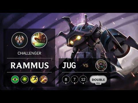 Rammus Jungle vs Dr. Mundo - BR Challenger Patch 9.21