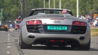 Supercars Leaving Car Meet LOUD! GT2 RS, McLaren 720S, Aventador S, BMW M5