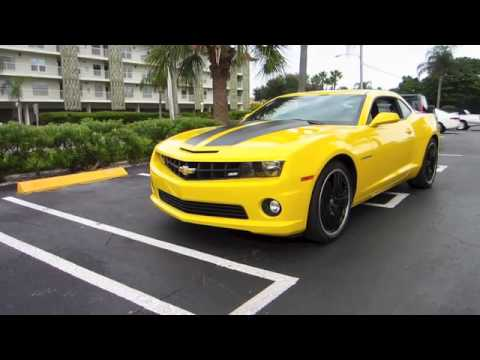 2010 Camaro Ss For Sale Rally Yellow W Black Stripes