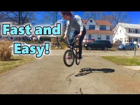 BMX HOW TO 180 (Easiest Way)