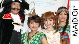 吉柳咲良が10代目ピーターパンに 神田沙也加は6年ぶりにウェンディ役 「ピーターパン」製作発表会見1