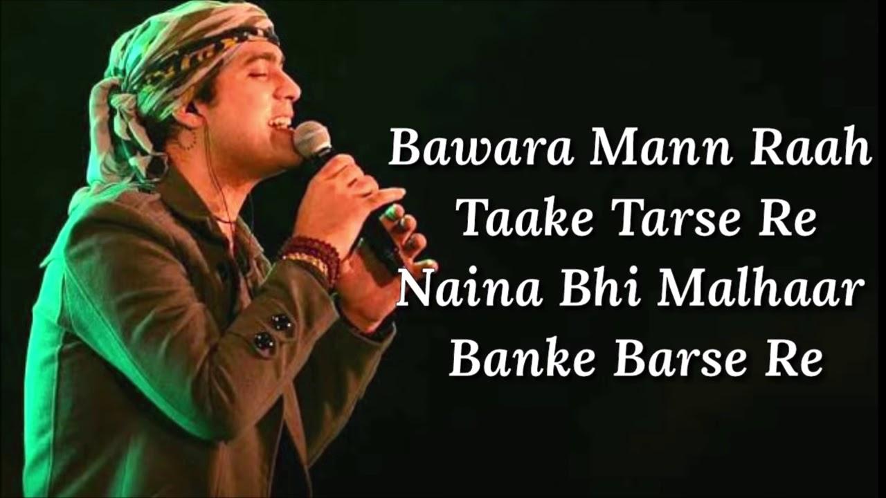 Download Bawara Mann Lyrics - Jolly LLB 2 - Jubin Nautiyal, Neeti Mohan - Junaid - Akshay Kumar ,Huma Qureshi