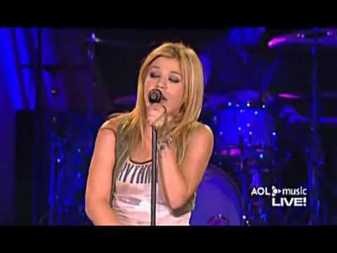 Kelly Clarkson - Hear Me (AOL Music Live)