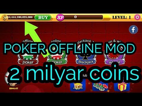 Poker Offline Apk Mod Unlimited Coins Free Link Download Youtube