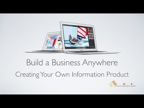Creating Your Own Information Product
