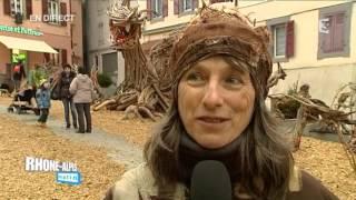 Le fabuleux village des flottins d'Evian les bains