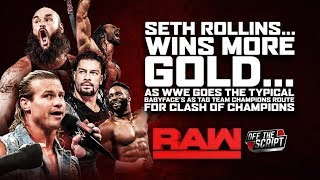 ROLLINS & STROWMAN BECOME TAG CHAMPS BUT WHY!? | WWE Raw August 19, 2019 Full Show Review & Results