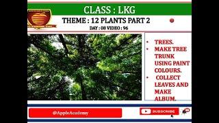 LKG BOOK 3 THEME 12 PLANTS PART 2 DAY 8 VIDEO 96
