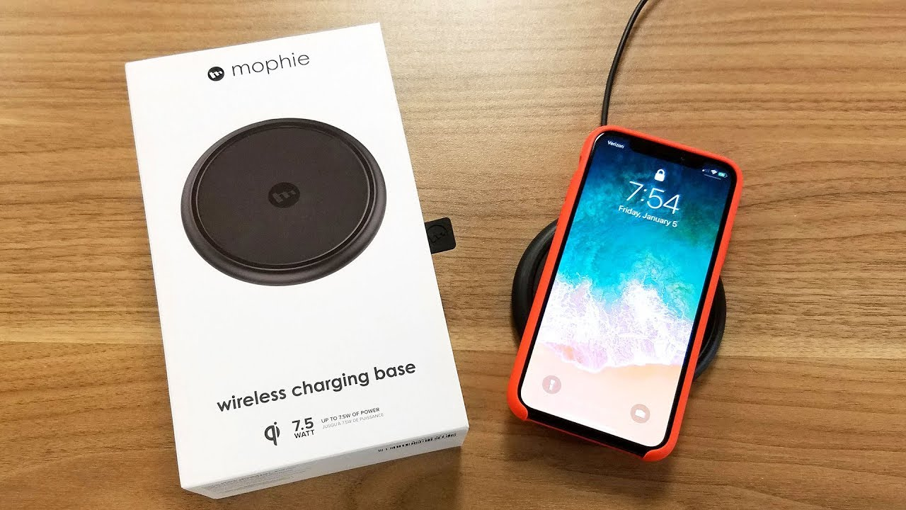 competitive price 50690 da847 Mophie iPhone Wireless Charger Base Unboxing and Review in 4K