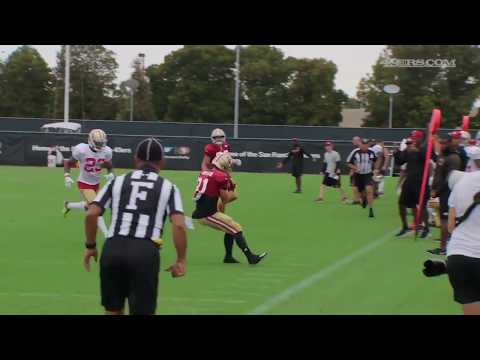 Trent Taylor Training Camp Highlights | 2017 NFL HD