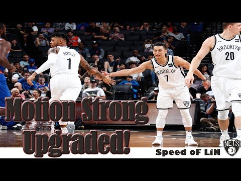 The Brooklyn Nets Revamped Motion Strong Offense
