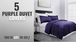 Top 10 Purple Duvet Covers [2018]: Sleep Restoration Micromink Goose Down Alternative Comforter Set