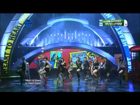 *Full HD* [11.04.07] 4minute - Heart To Heart & Mirror Mirror (comeback stage) @ M!Countdown