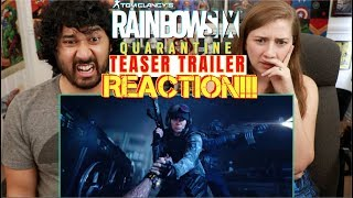 RAINBOW SIX QUARANTINE: E3 2019 Teaser TRAILER | Ubisoft - REACTION!!!