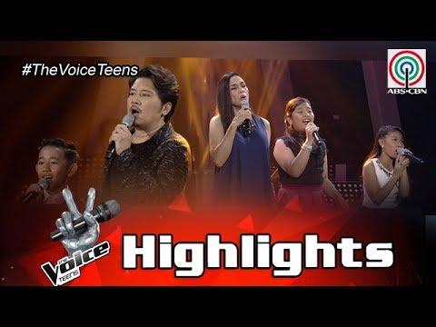 The Voice Teens Philippines Grand Finale: Janno, Kuh, Lyca, Elha, & Joshua - Ipagpatawad Mo