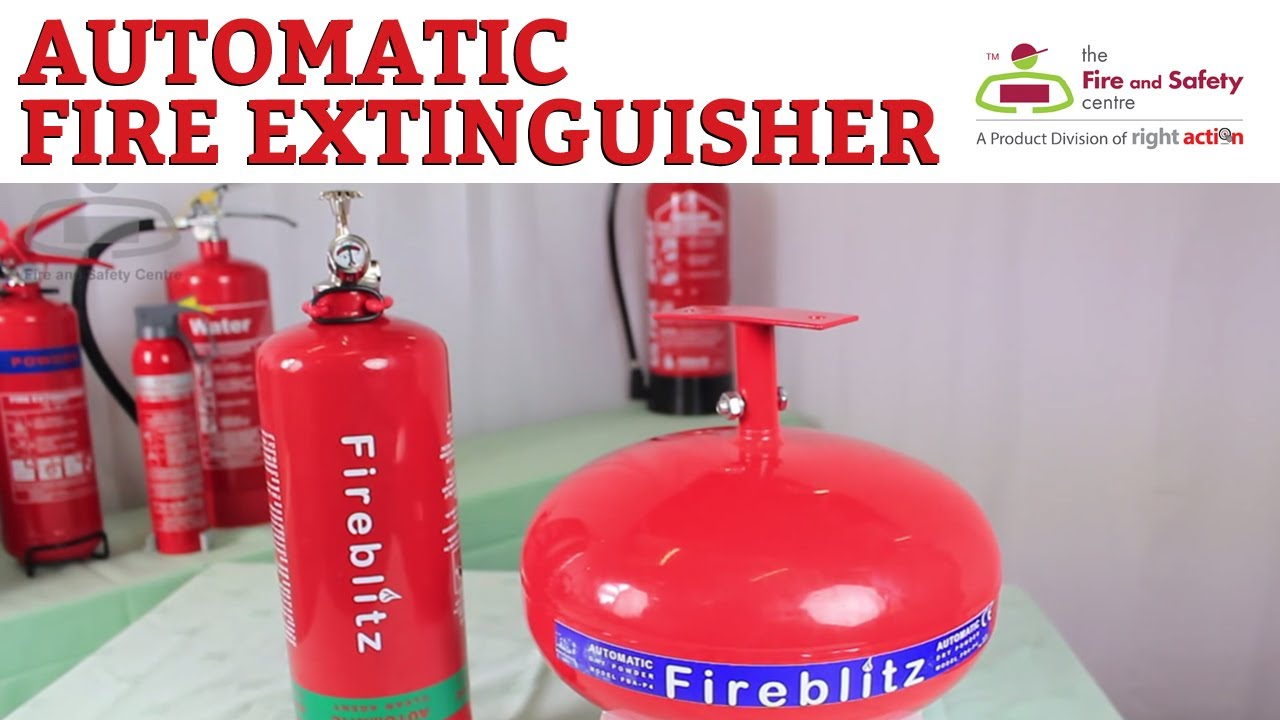 Applications of automatic fire extinguishers youtube