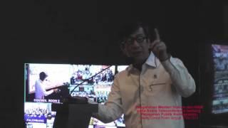 Arahan Menkumham pada Teleconference Pelayanan Keimigrasian @2 Mei 2016