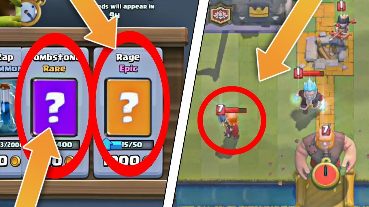 """GLITCHES in CLASH ROYALE!! """"VALKYRIE HAS A MIND OF HER OWN!"""""""
