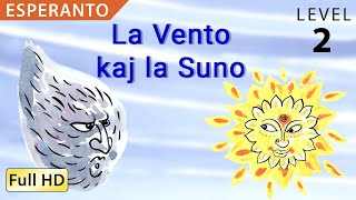 "La Vento kaj la Suno: Learn Esperanto with subtitles – Story for Children ""BookBox.com"""